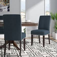 brucedale upholstered dining chair set of 2