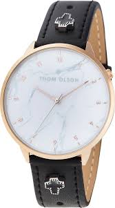 <b>Часы</b> наручные <b>Thom Olson</b>, CBTO014, черный, золотой