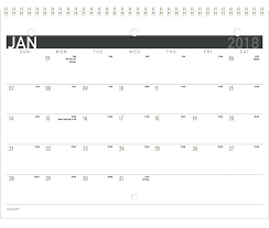 At A Glance Monthly Calendar Academic Weekly Planner Appointment