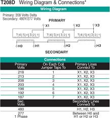 kva jefferson transformer t208d wiring diagram