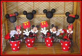 Mickey Minnie Mouse Birthday Cake Decorations Tierra Este 35016
