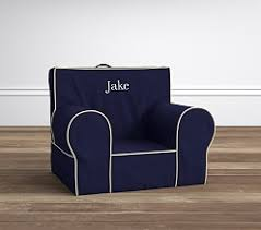 navy with stone piping anywhere chair