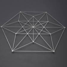 vector equilibrium metal wall art sculpture sacred geometry wall decor large metal wall art modern metal wall sculpture geometric art