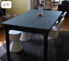 before after kate s chalkboard table