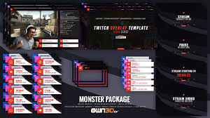 Twitch Stream Design Free Twitch Overlays Panels And Alerts For Streamers