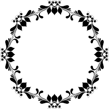 flower black and white picture frames fl design puter icons