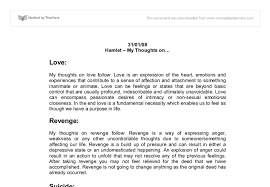 hamlet theme of revenge essay revenge in shakespeares hamlet essay 1429 words bartleby