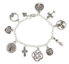 Celtic Knot Symbols And Meanings Chart Night Owl Jewelry Celtic Symbols Charm Bracelet Silver Plated Charms Sterling Silver Chain Claddagh Celtic Knots Tree Of Life Cross
