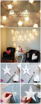 diy projects for teenage girl bedrooms. diy star string lights garland diy projects for teenage girl bedrooms e