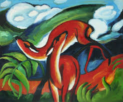 the red deer franz marc classic 20 x 24 159 00