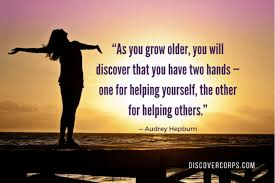 40 Inspirational Quotes About Volunteering Giving Back New Quotes About Helping Others