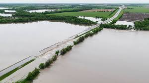 Image result for flooded roads in oklahoma