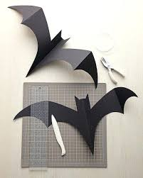 Hanging Bats Step By Craft How And Instructions Martha Stewart Bat ...