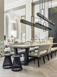 conheça a casa da designer kelly hoppen modern dining tabledining