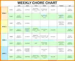 Apartment Chore Chart How To Make A Chore Chart For Roommates Best Ideas About Roommate