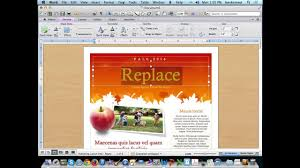 Microsoft Word Newsletter Create A Newsletter Using Microsoft Word Templates Youtube