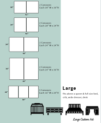 Canvas Size Chart Canvas Sizing Chart Janeva Tyree Art
