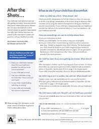 Aspirin Dosage Chart Child After The Shots What To Do If Your Child Has Discomfort