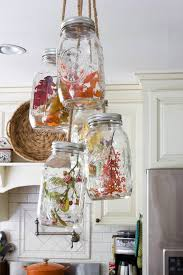 Kitchen Decorative Filled Jars Golden Boys and Me Fall Home Tour 100 Kitchen 2