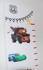 Disney Cars Wood Growth Chart Ruler Measuring Stick Height Ruler Boys Room Personalized Growth Chart Baby Shower Gift