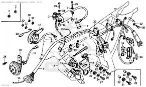 Car honda cb125s usa wire harness ignition coil horn label honda wiring diagrams diagram