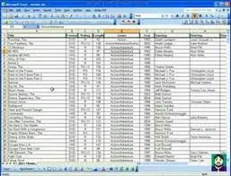 Microsoft Excel 04 Excel As A Database Youtube