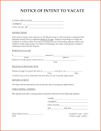 Notice To Vacate Property Template Notice To Vacate Letter To Landlord Templates Ninja 14