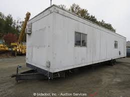 Evergreen Office 1978 Evergreen Office Trailer Lot Online Only Equipment