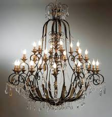 awesome large arms wrought iron chandelier crystal light fixture chrome wrought iron chandeliers with crystals