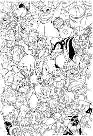 Small Picture Coloring Pages Sonic Sonic Hedgehog Printable Coloring Pages