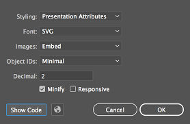 How To Export Svgs For The Web From Illustrator Colin Lord Medium