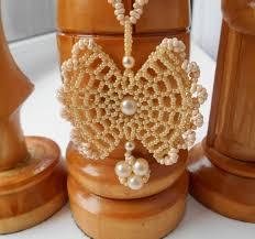 With Farfalle <b>seed beads</b> | <b>Кулон</b> «Вафелька», как результат урока ...