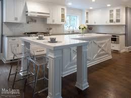 White Transitional Kitchens White Quartz Transitional Kitchen Bryn Mawr Pa Maclaren