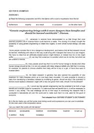 writing an opinion essay worksheet esl printable worksheets full screen