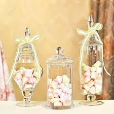 candy jar set transpa lid storage bottle glass jars wedding decoration canister mason kmart
