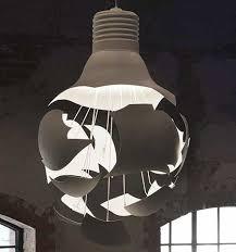 artistic lighting. Pretentious Design Ideas Artistic Lighting Unique The Scheisse Explodingn Light Bulb From Northern E