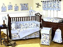 aviator bedding set khaki and blue baby bedding crib set baby aviator bedding set