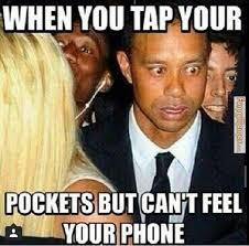 FunnyMemes.com • Funny memes - Can't feel your phone via Relatably.com