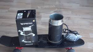 Nespresso Frother Look On Nespresso Aeroccino 3 Black Milk Frother For Best Latte