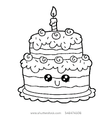 Birthday Candle Template Co Printable Coloring Page Cakejournalco