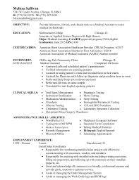Medical Assisting Resume