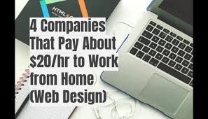 40 Companies That Pay About 40hr To Work From Home Web Design Magnificent Work From Home Web Design