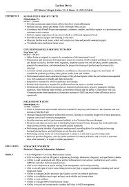 Service Tech Resume Field Service Tech Resume Samples Velvet Jobs
