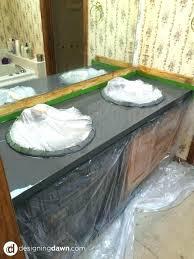 painting laminate countertop paint formica countertops black to look like stone over granite