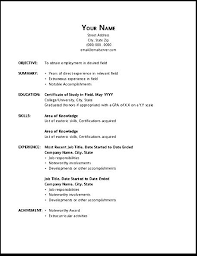 resume templates word free download inspirational open office ...