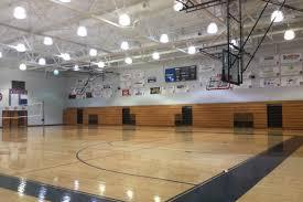 high school gym. Gym High School