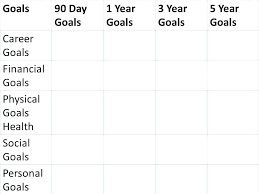 4 Year Plan Template 3 Year Planner Template Metabots Co