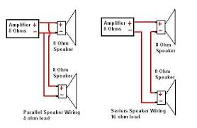 speaker wiring diagram wiring diagram 2 speaker 8 ohm wiring diagram