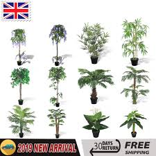 Home, Furniture & DIY <b>180CM</b> Realistic Artificial Trees <b>Bamboo</b> ...