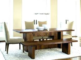 Dining Room Tables With A Bench Best Inspiration